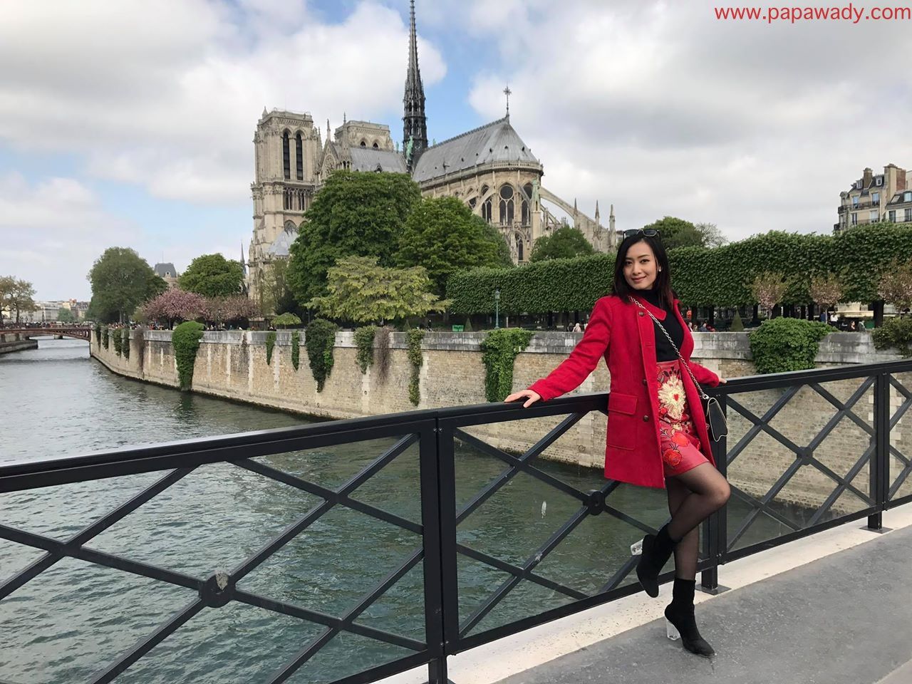 Yu Thandar Tin Visits To Paris In April