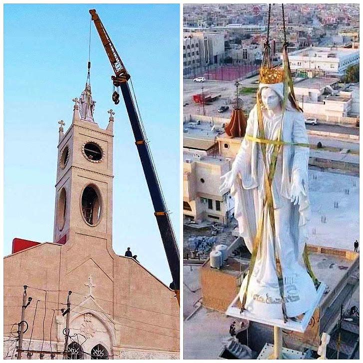 Reinstalação da Imaculada Conceição em Qaraqosh, Iraque