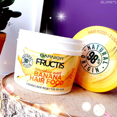 Masque Fructis Hair Food de Garnier - Banane