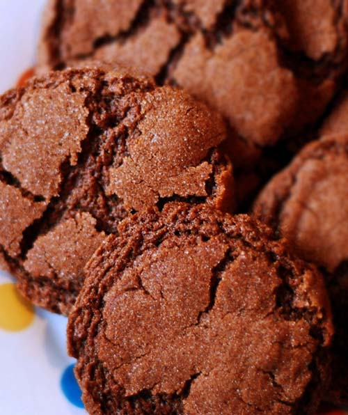 Mexican Hot Chocolate Cookies. A Lil Bit O' Spice With Your Sweets...