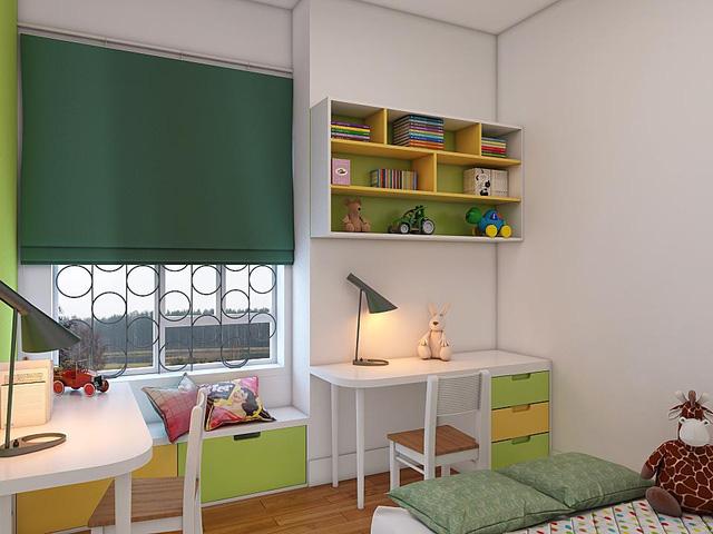 Đặt học giữa phòng khiến bé rơi vào trạng thái cô lập.