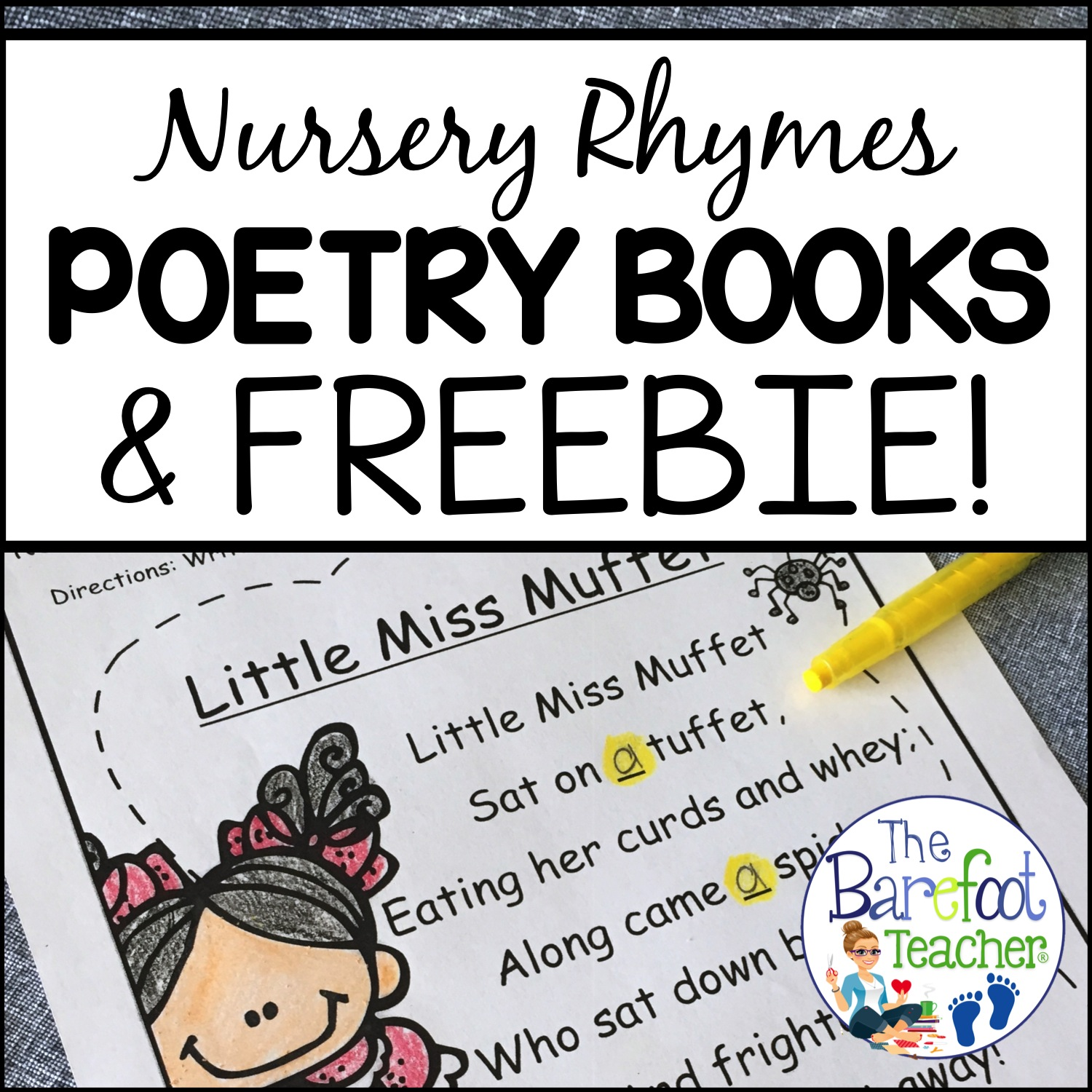 This Free Nursery Rhymes Poetry Book Printable Will Fit Right In With The Other Activities And