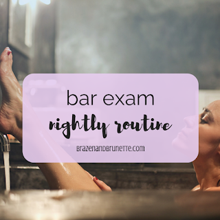 What to do the night before the bar exam. How to stay calm the night before the bar exam. How to prepare the day before the bar exam. A lawyer's last-minute Bar exam tips. What to do in the 24 hours before the bar exam. How to fall asleep the night of the bar exam. Should you study the day before the bar exam | brazenandbrunette.com