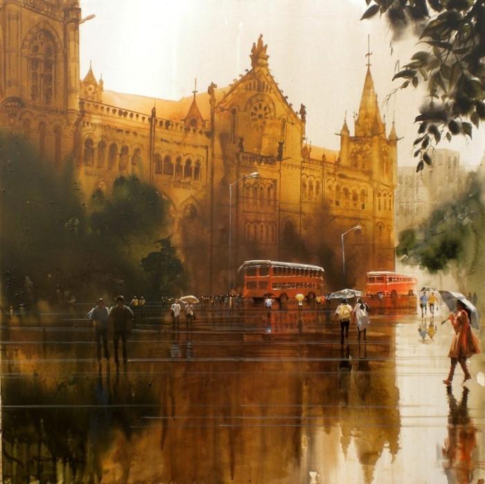Художник-самоучка. Bhuwan Silhare