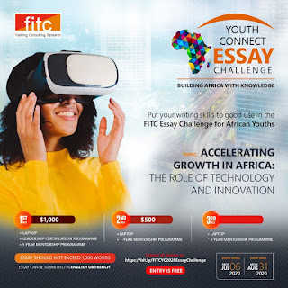 FITC Youth Essay Challenge Guidelines 2020   Win $1,500 & Other Prizes