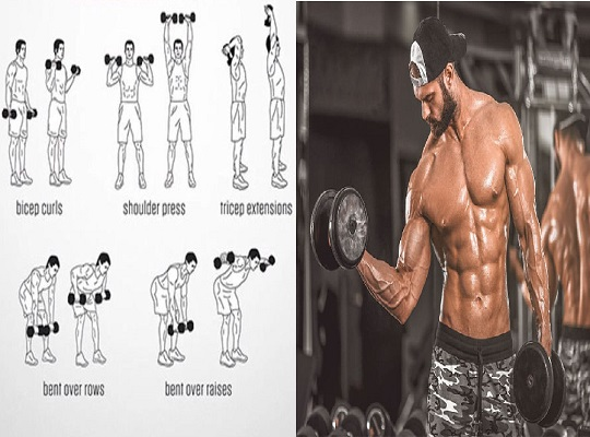 The Best Complete Upper-Body Dumbbell Workout