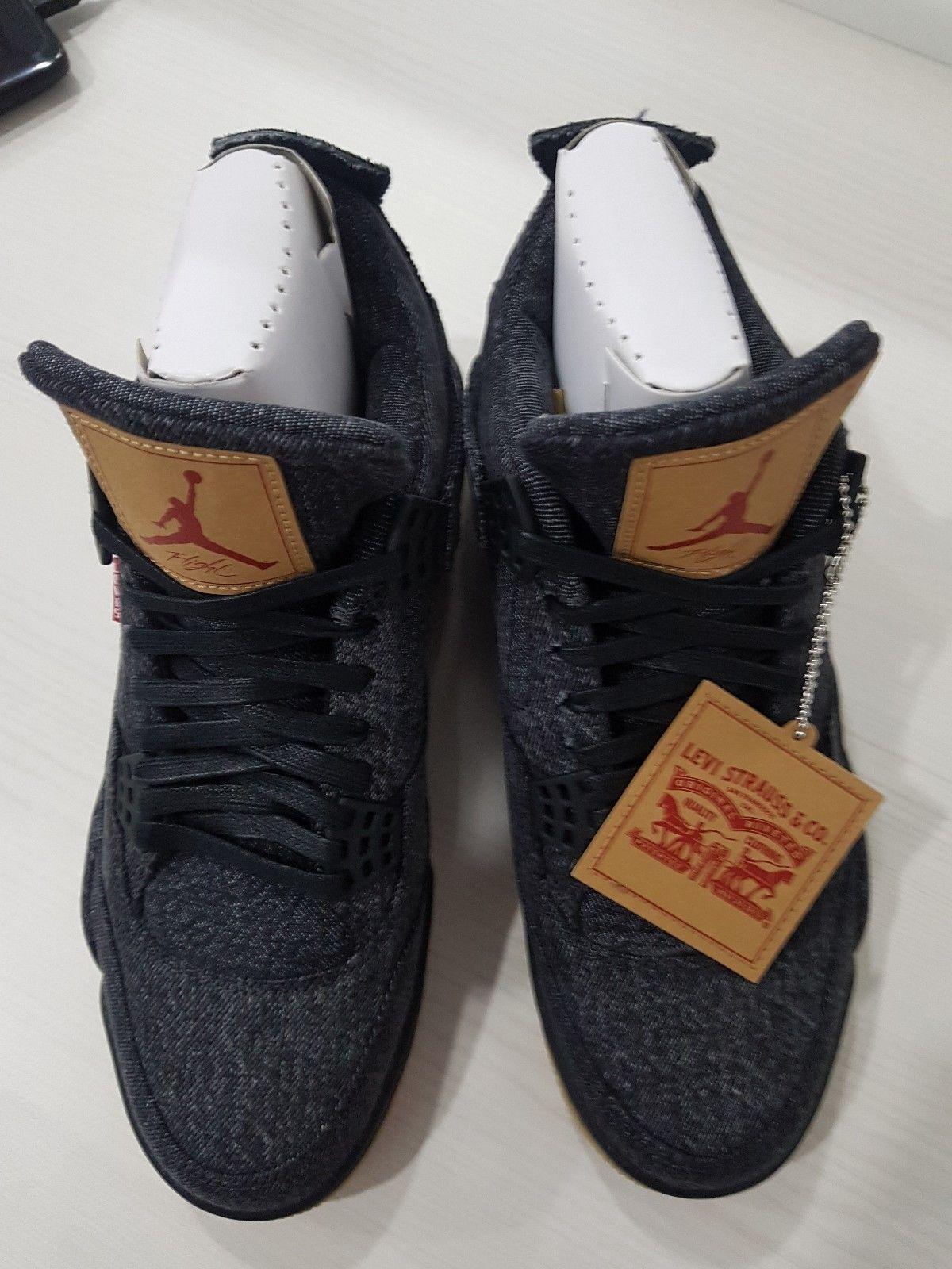 1c75887c80d763 Gergasi bundle  Air Jordan 4 Retro x Levi s