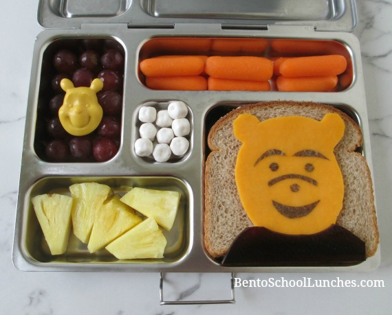 Winnie The Pooh kids school lunch