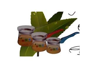 طقم كنك زجاج حراري بيركس 150 - 250 - 350 ملم