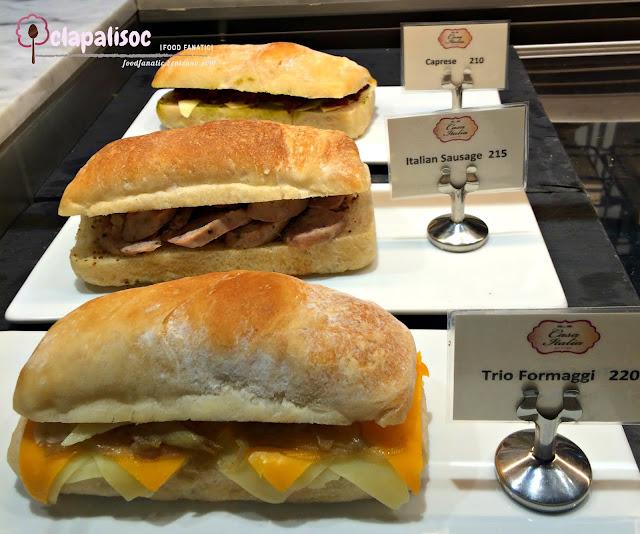 Casa Italia Philippines Sandwiches