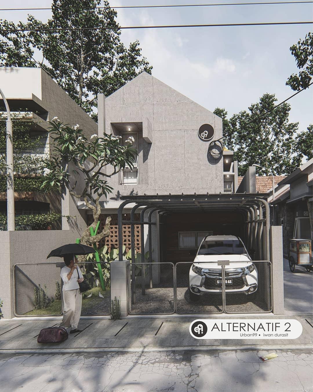 Design Rumah Idaman Minimalis Unik dan Mewah