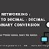 Networking primer series Binary to decimal TryHackMe