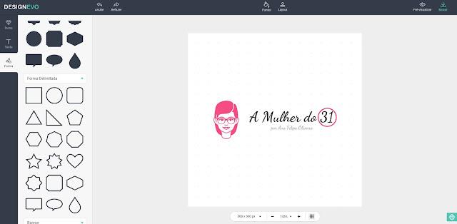 A Mulher do 31 no DesignEvo