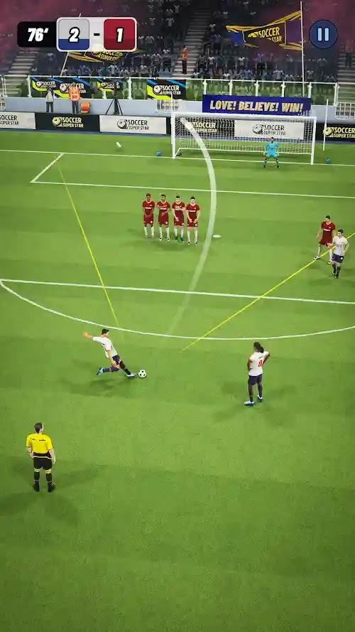تحميل لعبة Soccer superstar مهكرة أخر اصدار