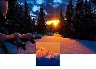 sfondo monti