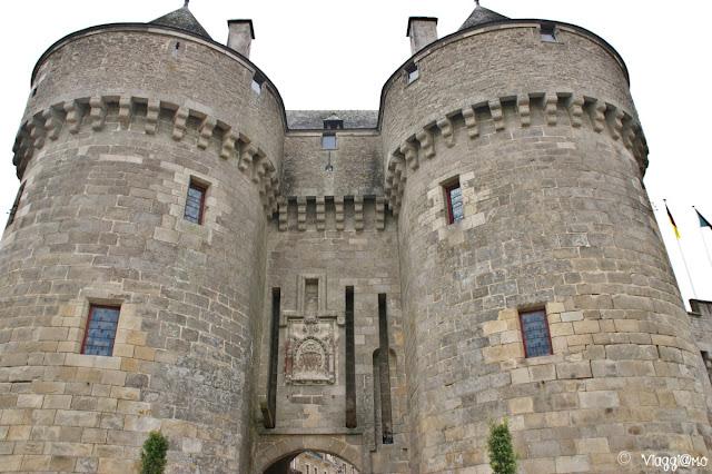 Una delle porte di accesso fortificate di Guerande