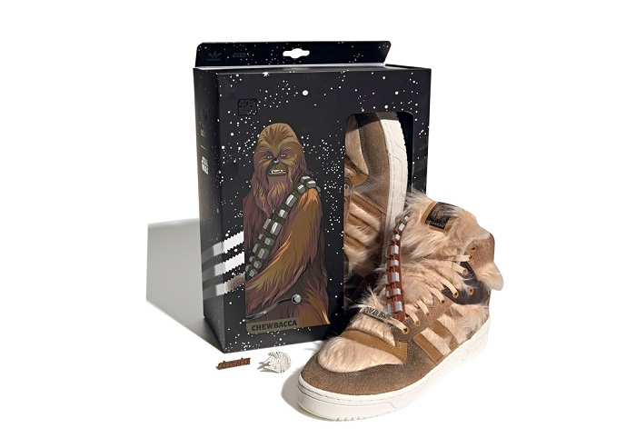 Adidas Star Wars Chewbacca Shoes