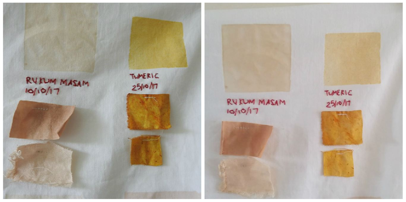 Natural Dyes - Colour Fastness