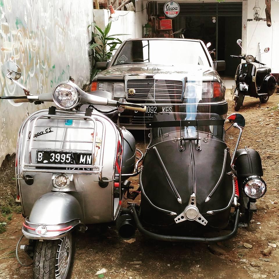 Dijual Sespan Vespa Cakep Nih Gan TANGSEL LAPAK MOBIL DAN MOTOR