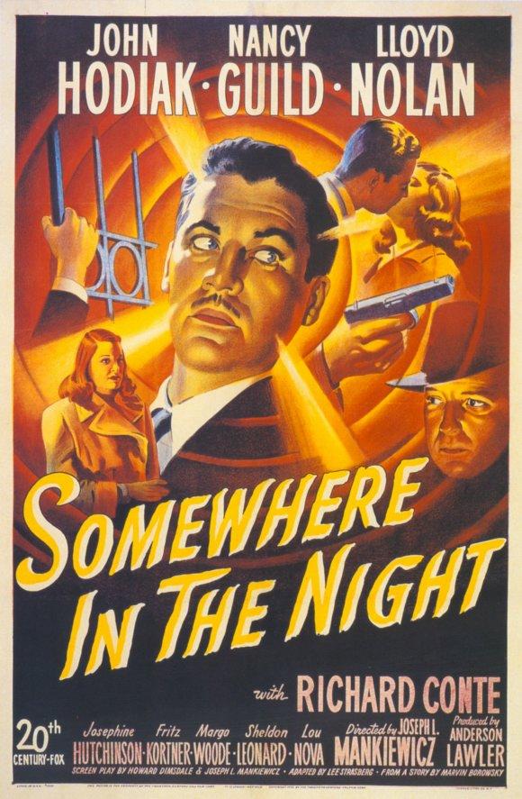 Quelque Part Dans La Nuit : quelque, Chroniques, Cinéphile, Stakhanoviste:, Quelque, Somewhere, Night,, Joseph, Mankiewicz, (1946)