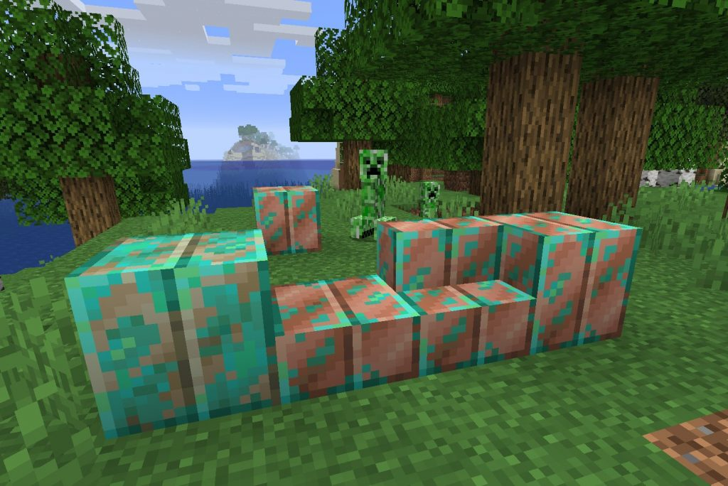 Minecraft: farm and use copper - Here's how