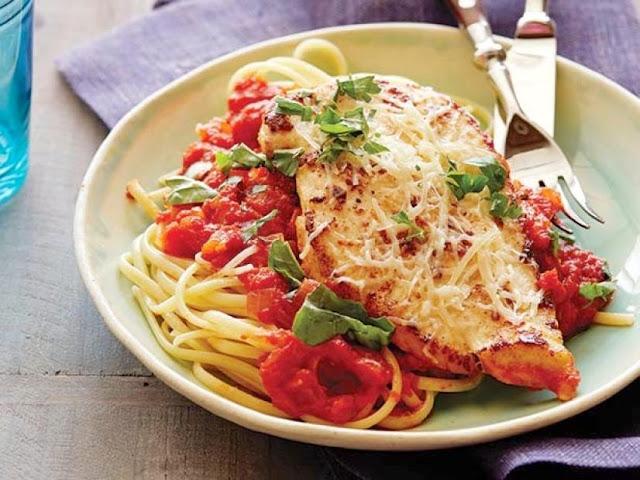Chicken Parmigiana Recipe at Home