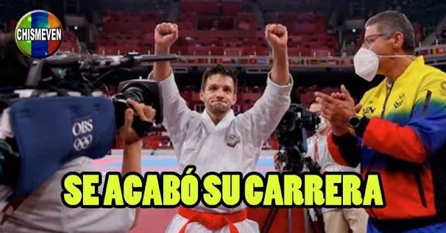 Karateka Antonio Díaz pone fin a su carrera tras fracasar en Tokio 2020