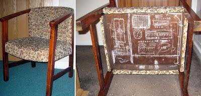 Grandad Dunham's Chair - Flight Simulator