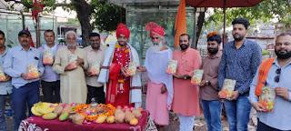 राष्ट्रीय कवि मुकेश मोलवा द्वारा रचित धेनु ही धर्म गौ माता के जीवन पर एक सम्पूर्ण ग्रन्थ है-योगेशजी महाराज