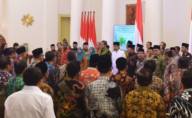 Presiden Jokowi Terima Rektor PTKN dan Kakanwil Kemenag se-Indonesia