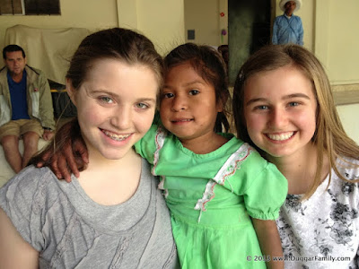 Joy-Anna Duggar and Kendra Caldwell in Central America