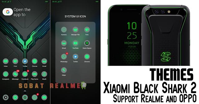 Download Themes Black Shark 2 Premium for Oppo Realme
