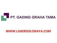 Lowongan Staff Accounting Pajak di PT Gading Graha Tama Sukoharjo