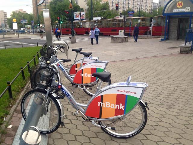 Rower miejski Warszawa
