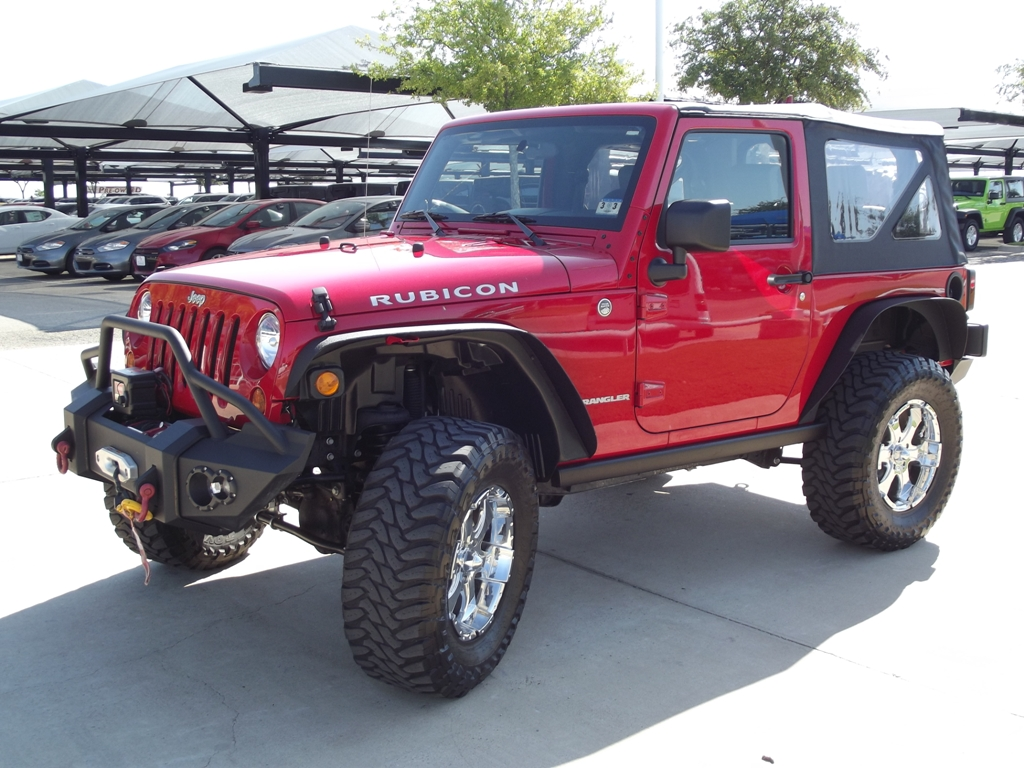 """Ford Dealership San Antonio >> 2010 Jeep Wrangler Rubicon with 18"""" & 35"""" Tires has only ..."""