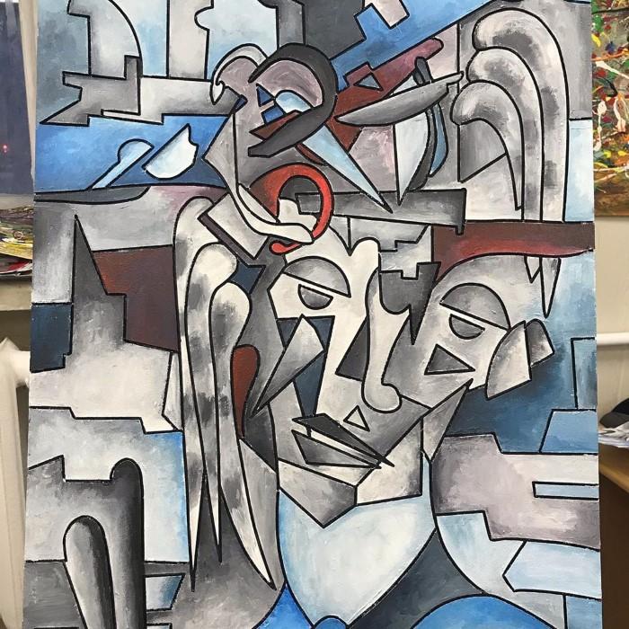 художник-абстракционист