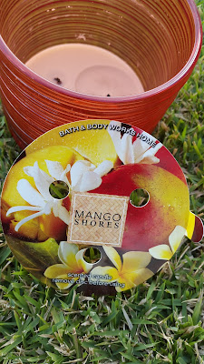 Bath and Body Works 'Mango Shores' 3 Wick Candle - www.modenmakeup.com