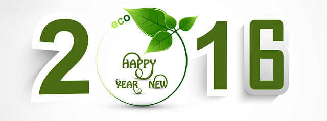 Happy New Year 2016 Eco-friendly facebook cover photos