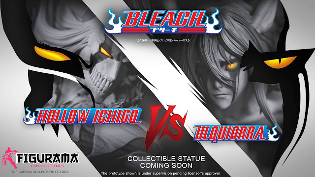 Bleach Ichigo VS Ulquiorra de Figurama Collectors.