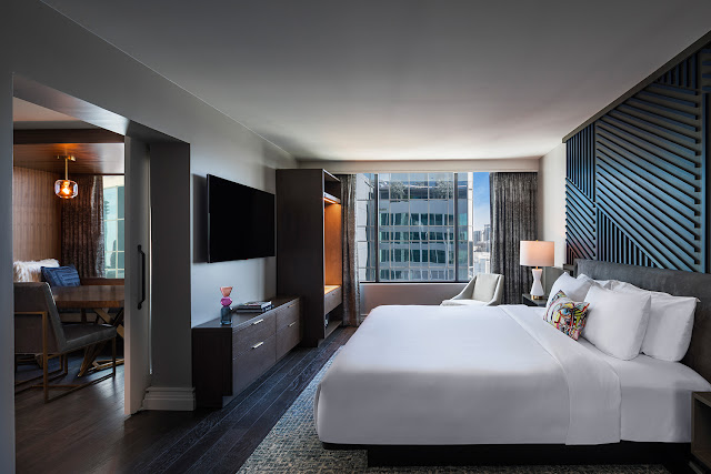 See and be seen at W Atlanta – Buckhead, this totally transformed hotel on the cutting-edge of style located in Buckhead, Atlanta GA.