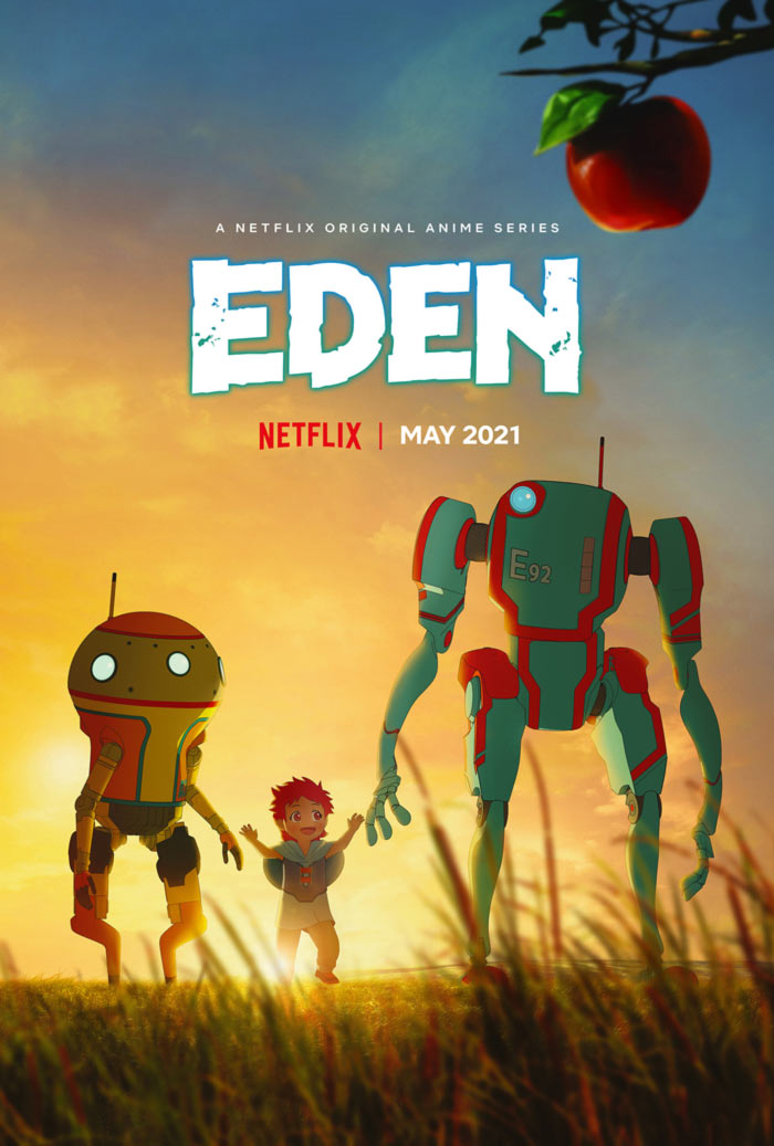 Eden anime - Netflix - poster