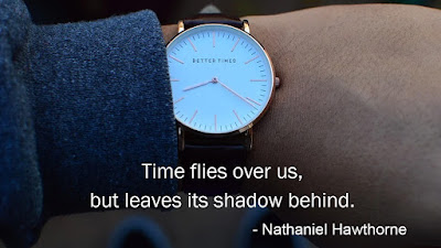 Time quotes - Nathaniel Hawthorne quotes