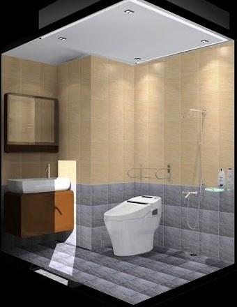 共用浴室-3D圖