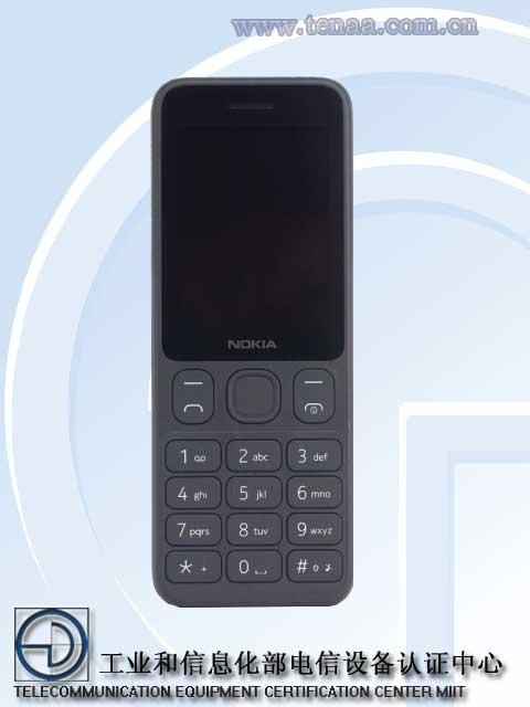 Nokia 125 TENAA
