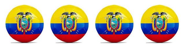 Four Ecuadorian Soccer Balls
