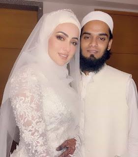 Sana Khan Wedding pictures