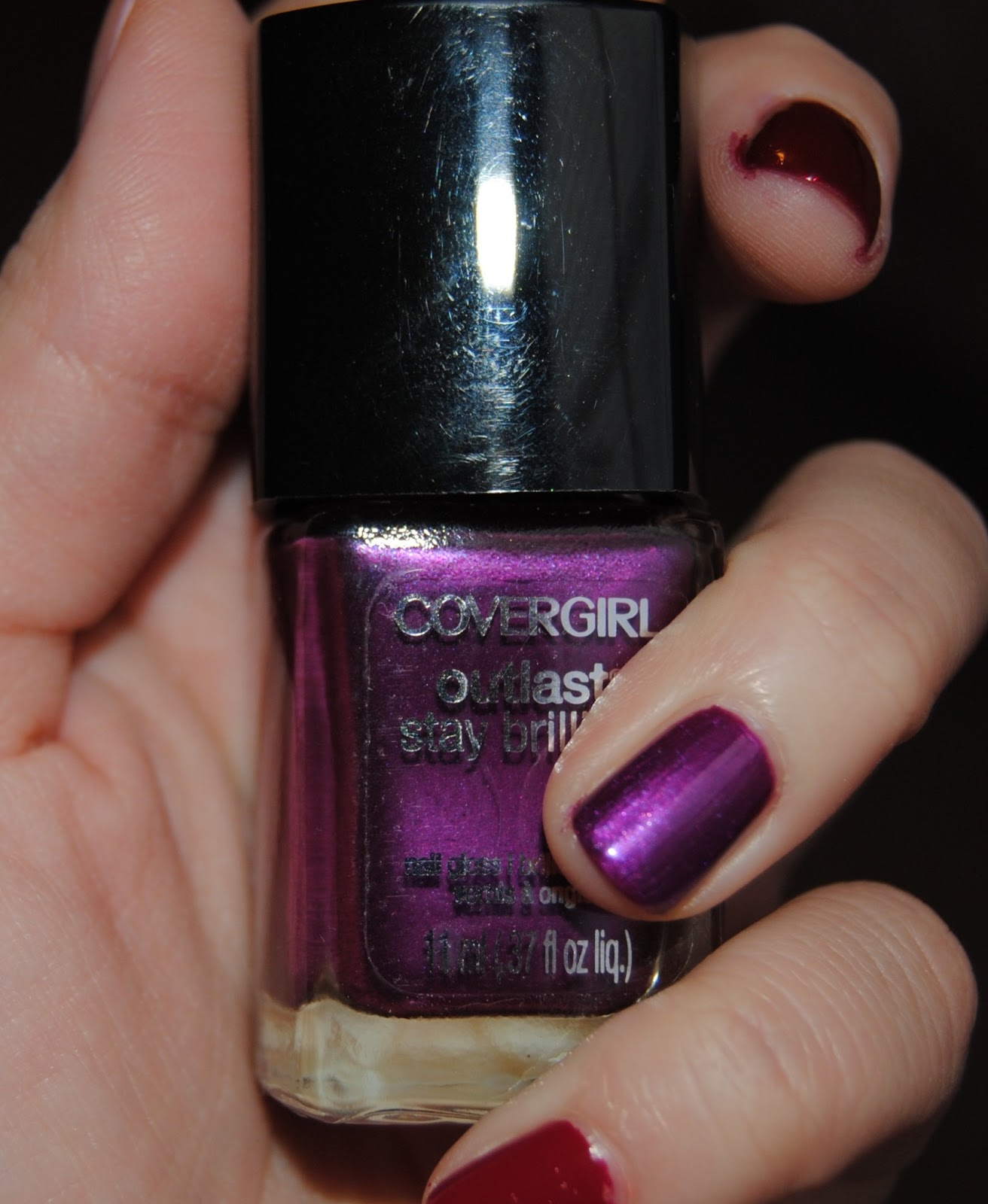 Simply Autumn Rush Quick Swatches New Covergirl Outlast Stay Brilliant Nail Glosses