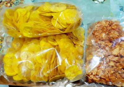 Order Kerepek Pisang Tanduk Dan Kerepek Ubi Pedas Untuk Raya Haji