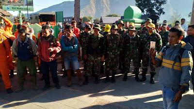 Tim Gabungan Berhasil Evakuasi Pendaki Gunung Rinjani