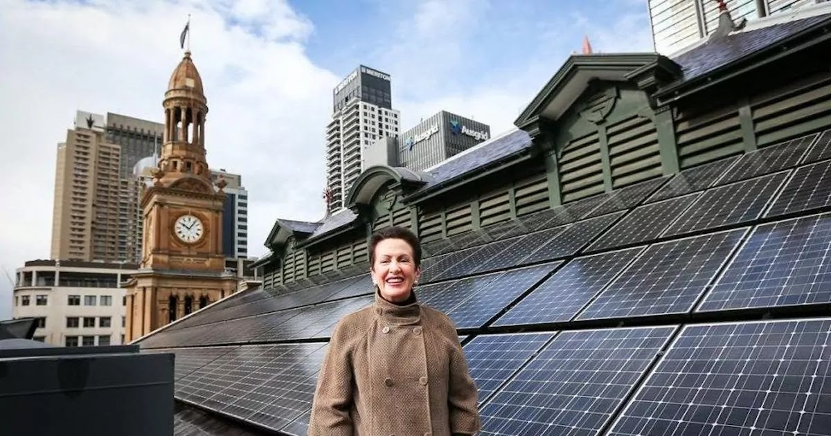 The City Of Sydney Is Now Powered By 100% Renewable Energy And Winning Plaudits For Its Dedication To Green Issues